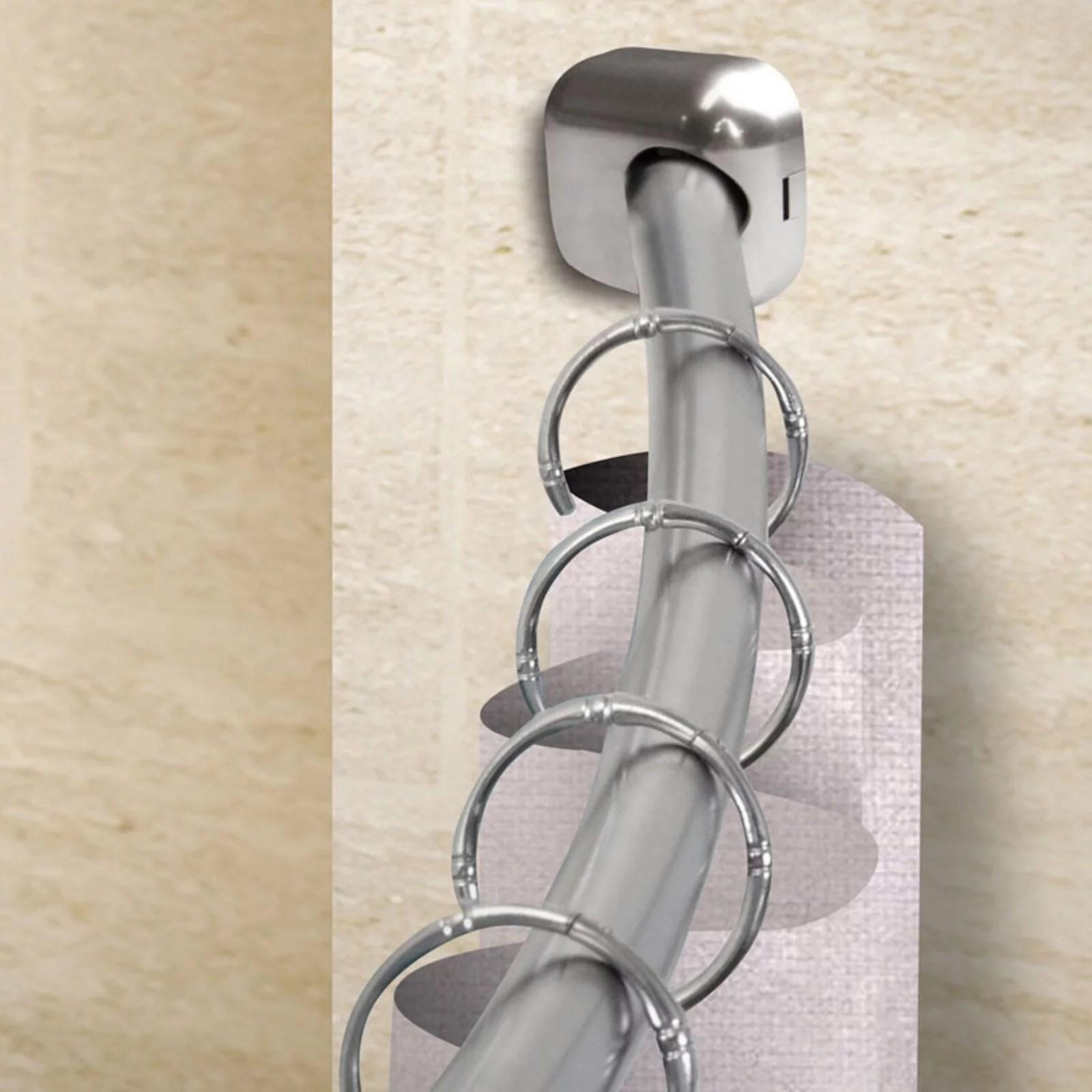 curved shower curtain rods walmart com