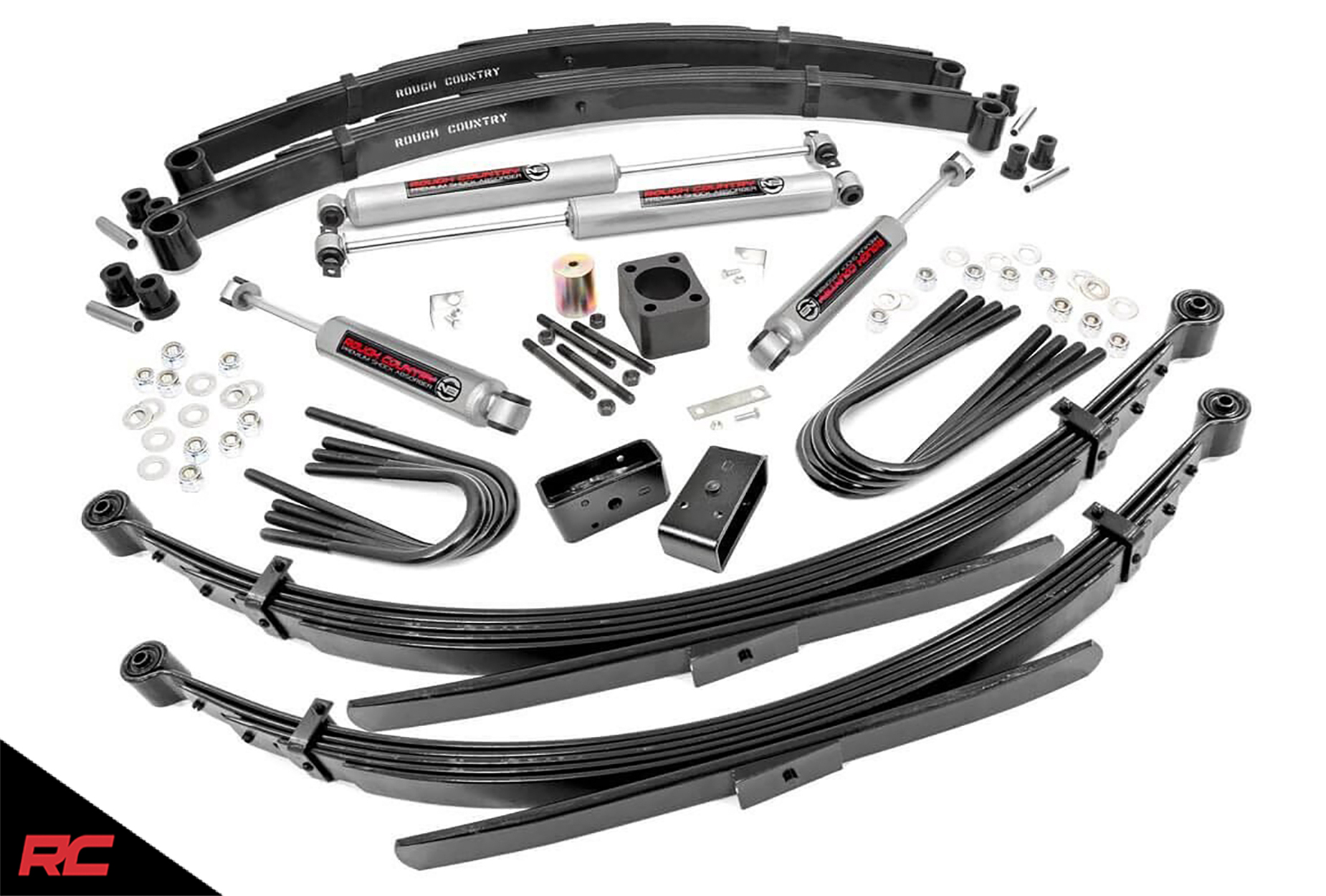 Rough Country 6 Lift Kit Compatible W Chevy