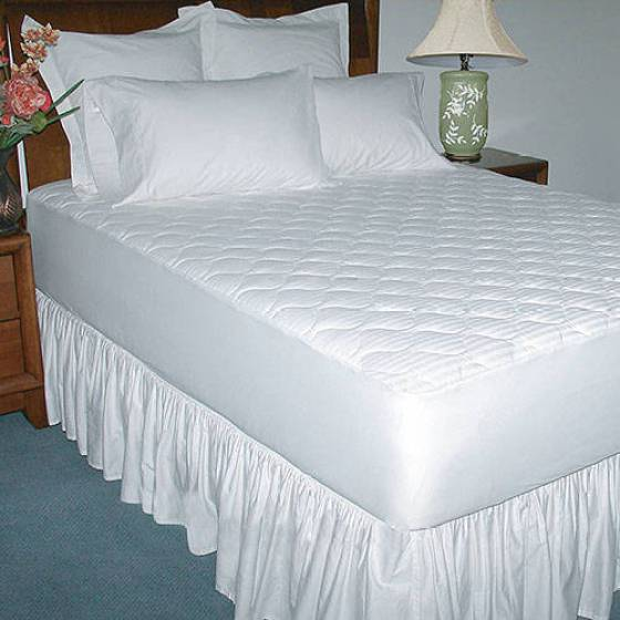 250 Thread Count Luxury Cotton Mattress Pad
