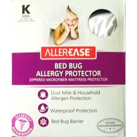 Allerease Bed Bug Allergy Protection Mattress Protector