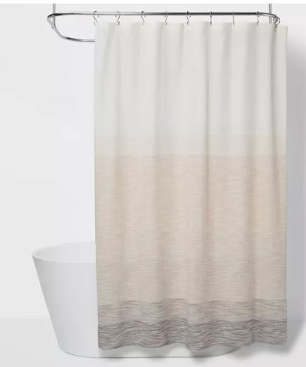 project 62 spacedye ombre shower curtain