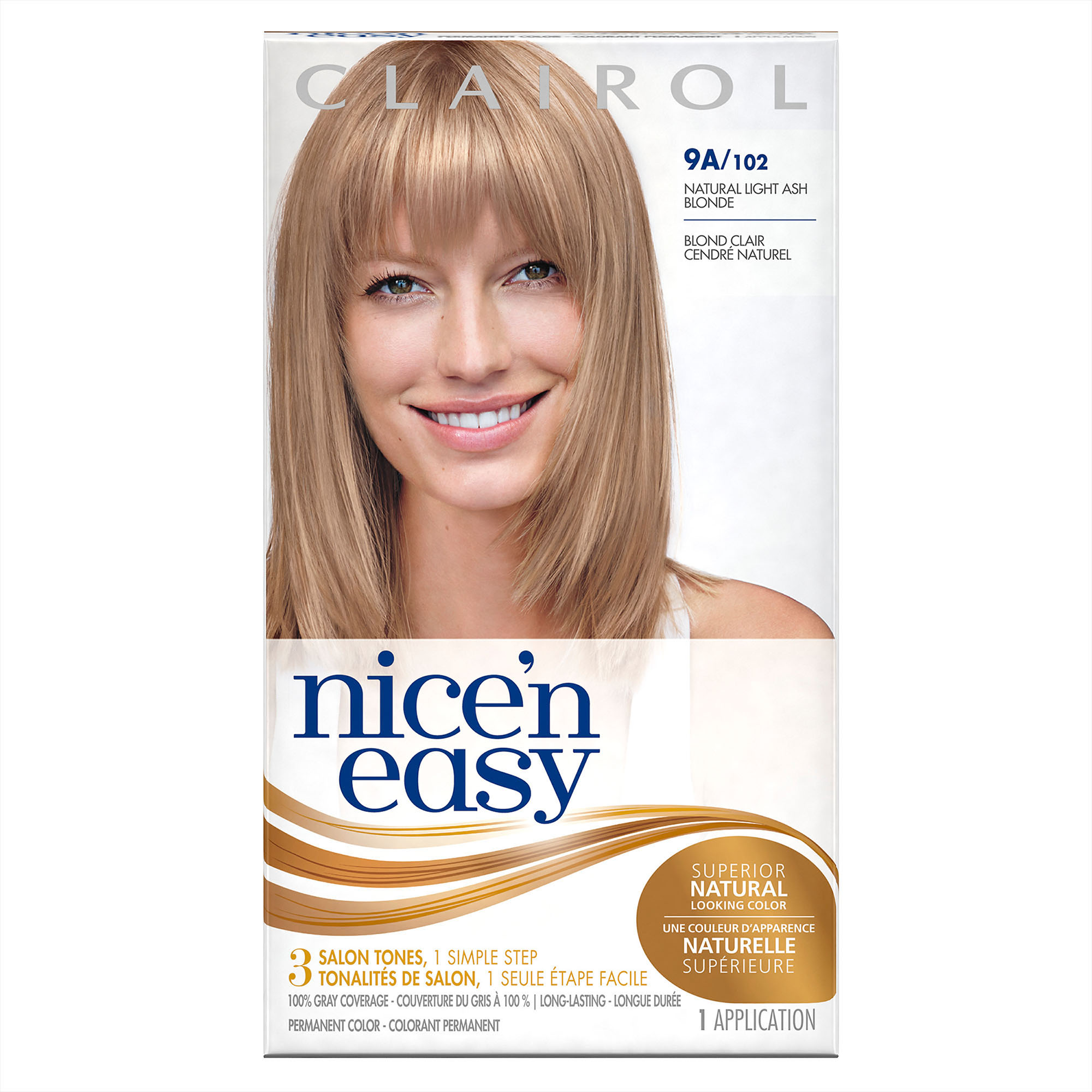 Clairol Nice N Easy Permanent Hair Color 9A102 Natural