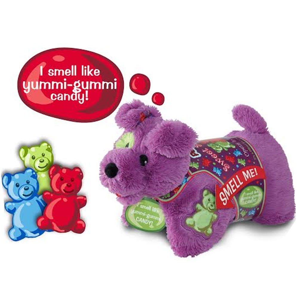 pillow pets gummi candy pup plush sweet scented toy