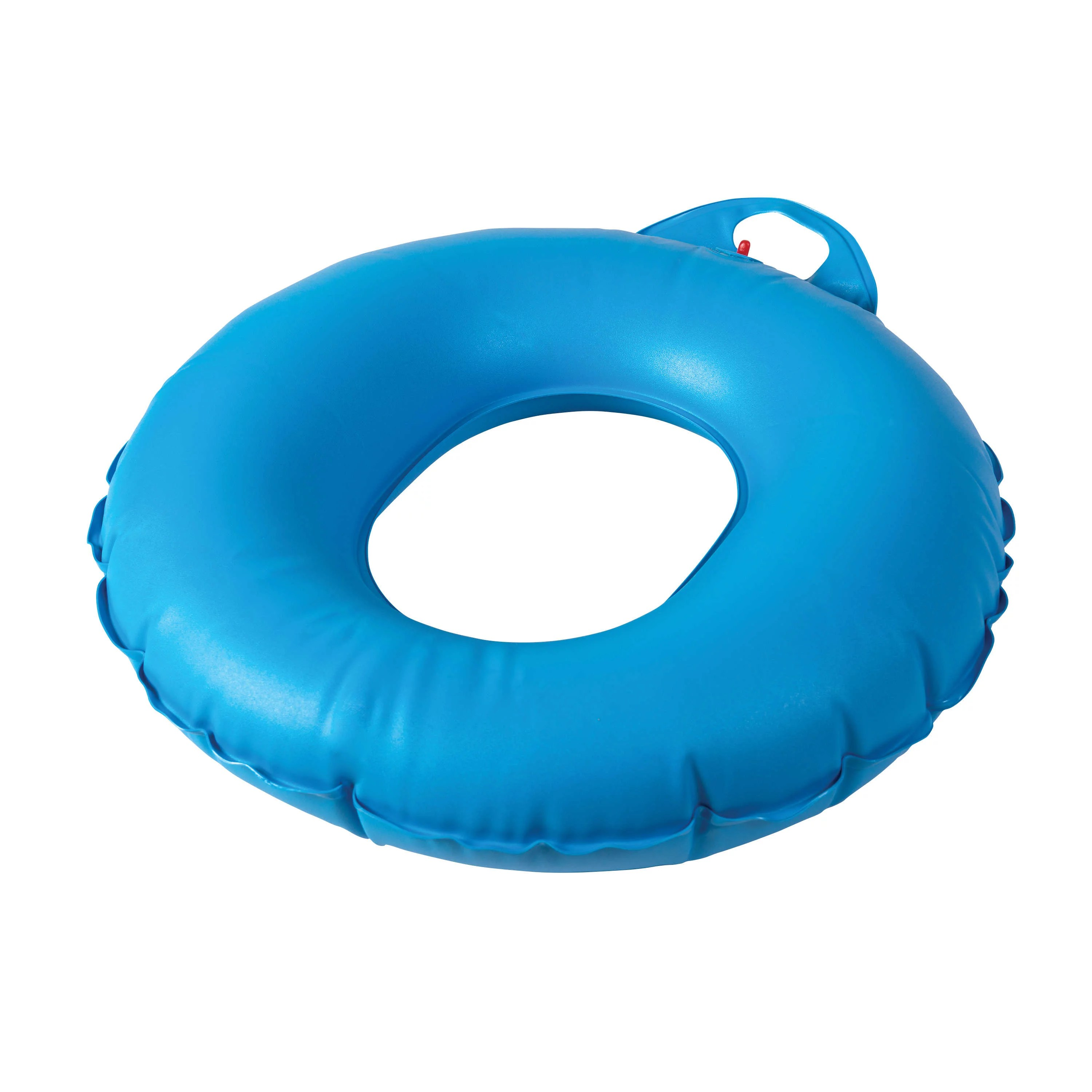 dmi donut inflatable seat cushion for tailbone and bed sores donut pillow for sitting 16 inches blue
