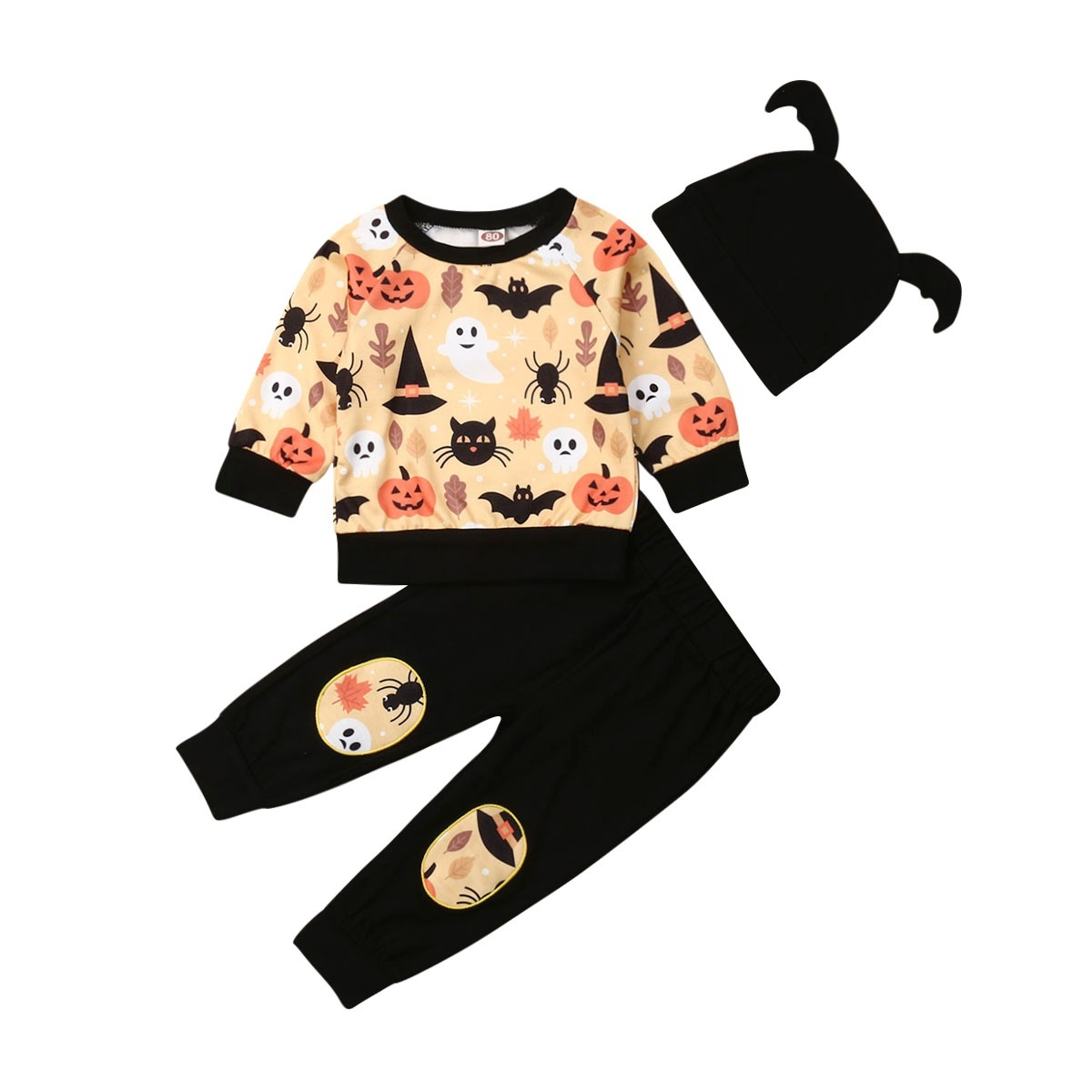 Halloween Day T For Toddler Kids Baby Boy Girl Autumn