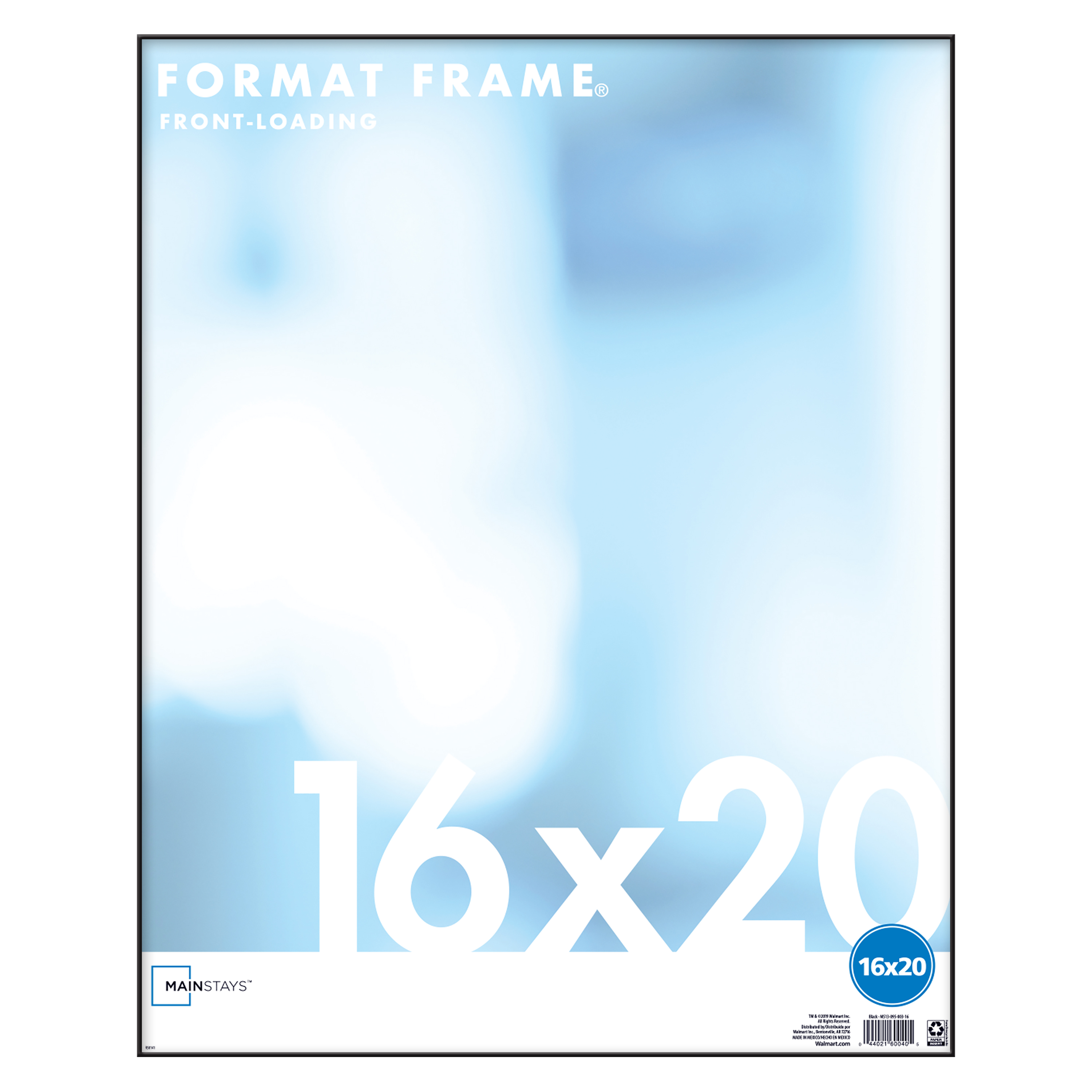 mainstays 16x20 format picture and poster frame black walmart com
