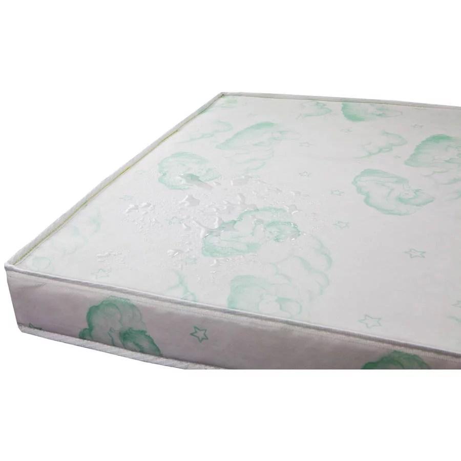 dream on me 3 square corner playard mattress foam