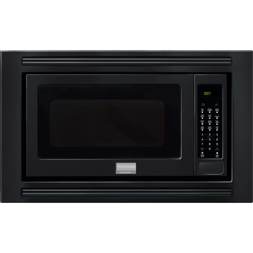 frigidaire professional series 2 cu ft 1200w sensor microwave oven for built in installation black