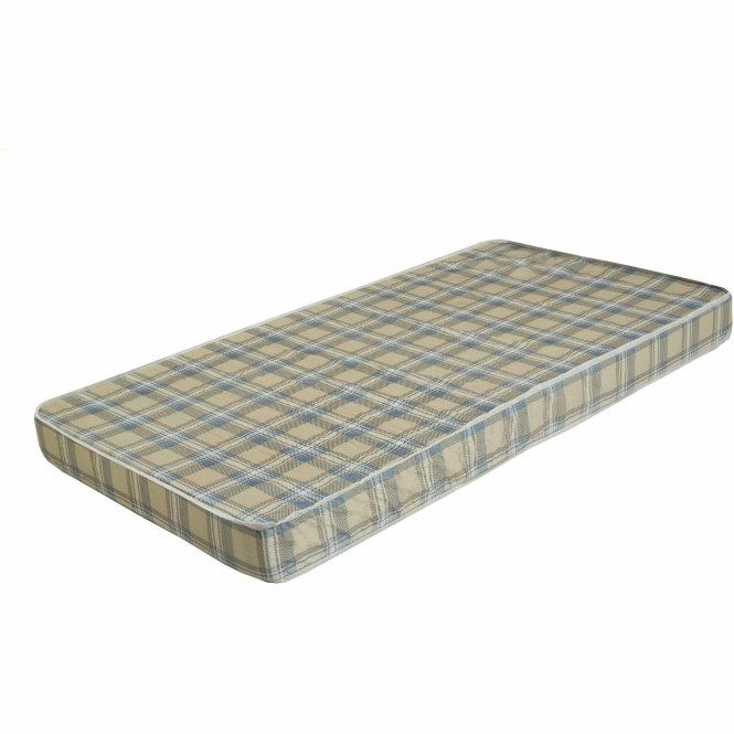 Bunk Bed Or Dorm Firm Comfort 5 Inch Mattress Plaid Pattern