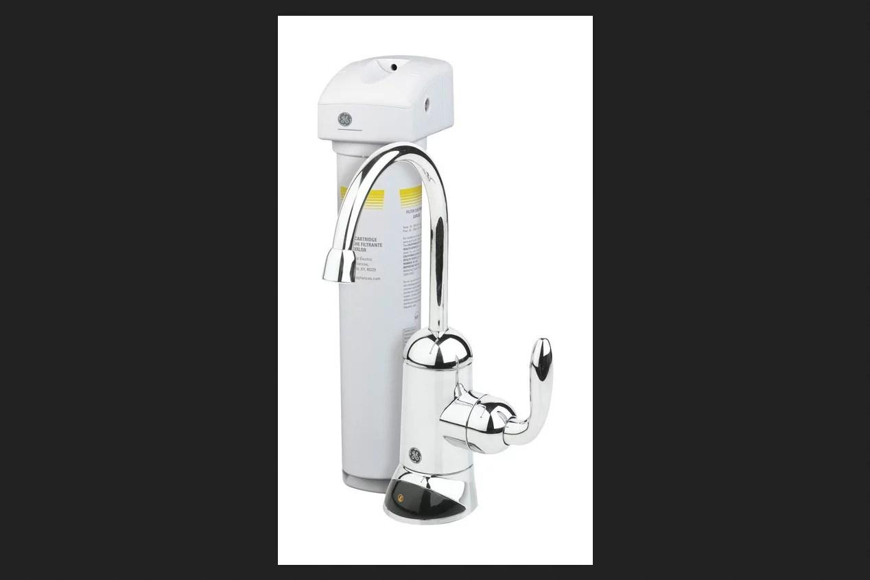 ge appliances single stage under sink water filtration system