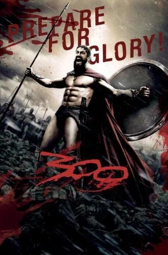 300 movie poster prepare for glory metal print 12 x16 large art print on metal 12x16