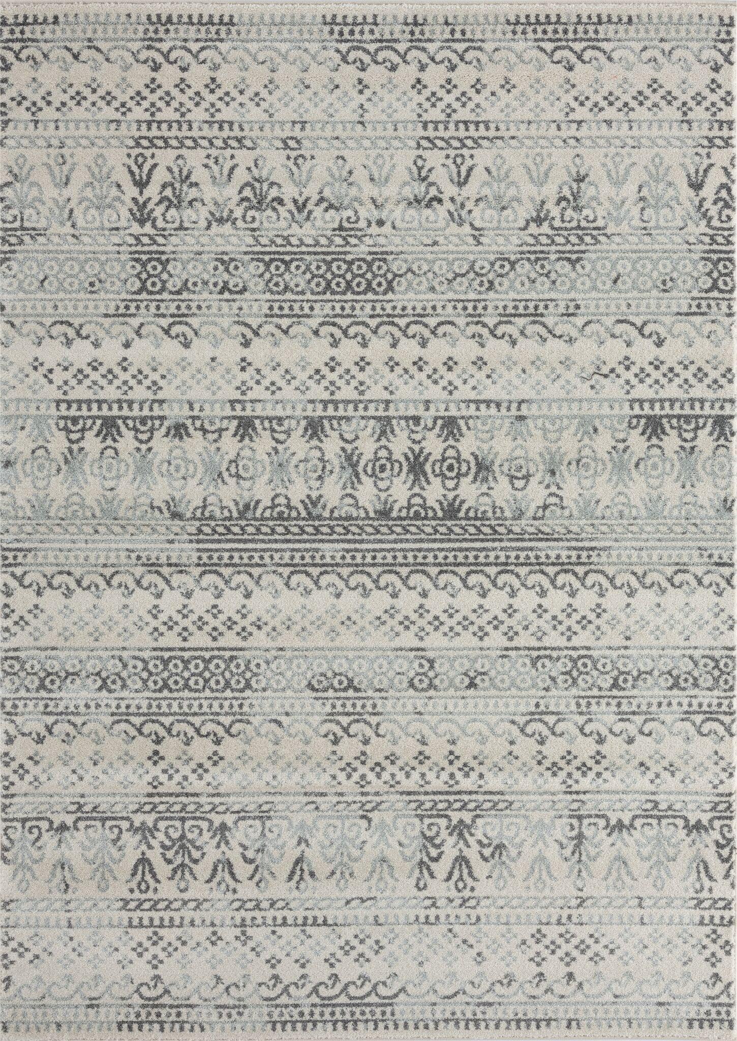 farmhouse collection cream light gray distressed modern on farmhouse colors for bath mats walmart id=55117