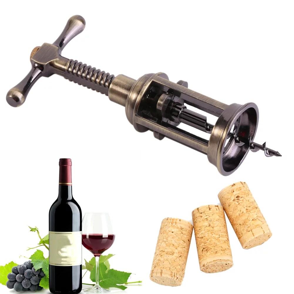 fyydes ouvre bouteille de vin rouge en alliage de zinc tire bouchon tire bouchon tire bouchon ouvre bouteille outil de bar de pub tire bouchon