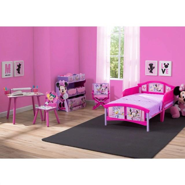 Disney Minnie Mouse Room in a Box with Bonus Chair Walmart