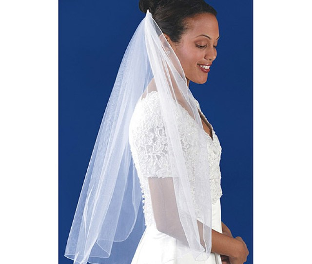 Wilton Single Layer Bridal Veil