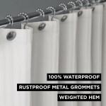 Hotel Style Herringbone Stripe 100 Waterproof Shower