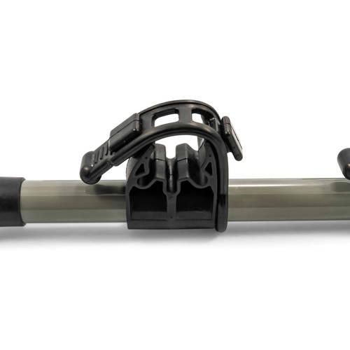 camco 51492 rv ladder mount bike rack for easy transport of 2 bikes