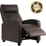 Recliner Chair For Living Room Recliner Sofa Wingback Chair Home Theater Seating Single Sofa Arm Chair Accent Chair Modern Reclining Chair Easy Lounge Brown Walmart Canada