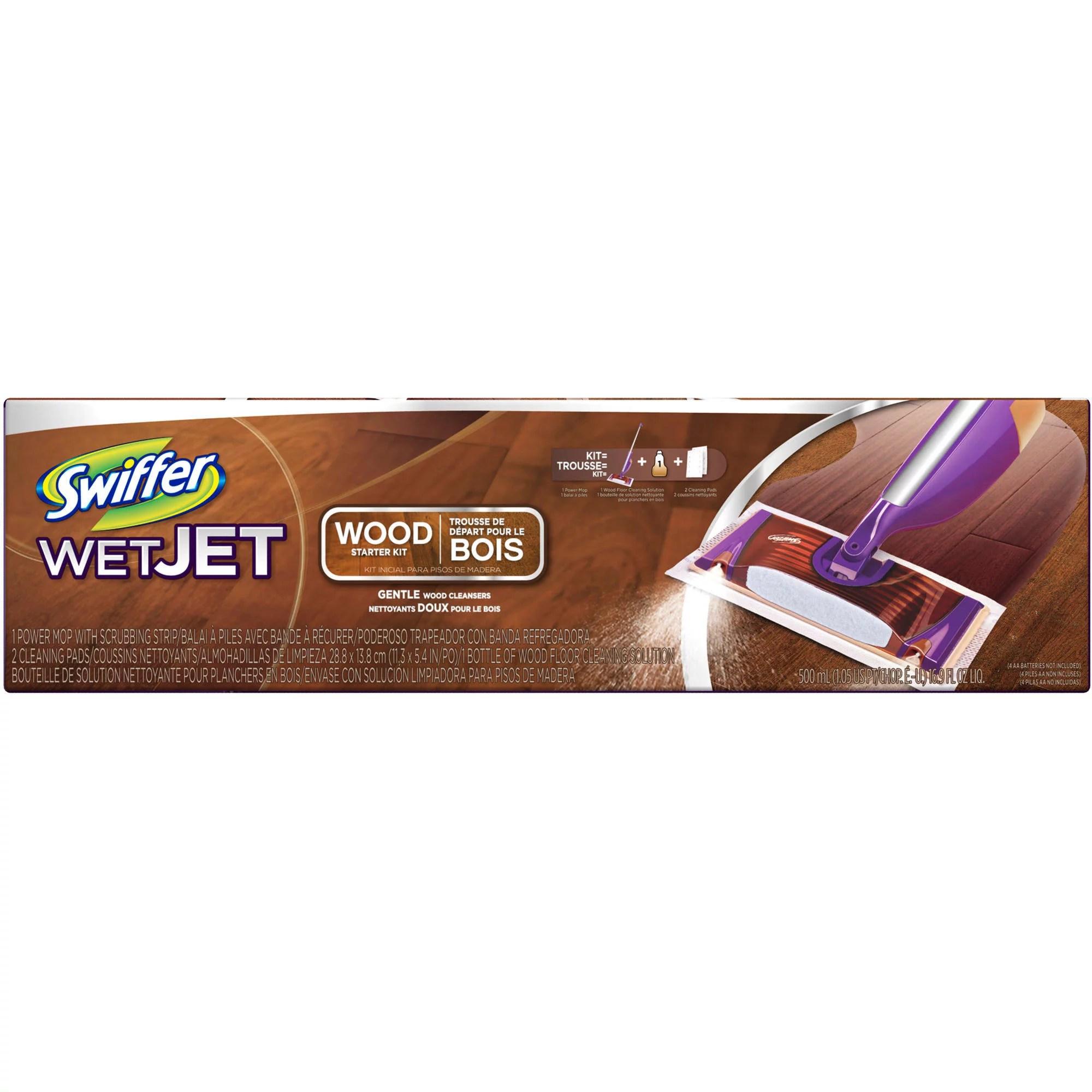 Swiffer Wet Jet Wood Starter Kit