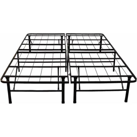 Modern Sleep Platform Metal Bed Frame Mattress Foundation