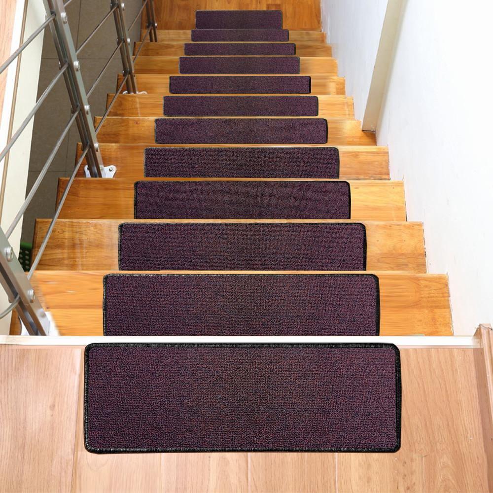 Yaheetech Non Slip Indoor Outdoor Stair Carpet Mat Set 0F | Indoor Outdoor Carpet Runners For Stairs
