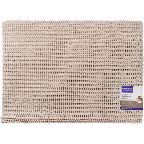 better homes and gardens noodle memory foam bath rug on farmhouse colors for bath mats walmart id=86156