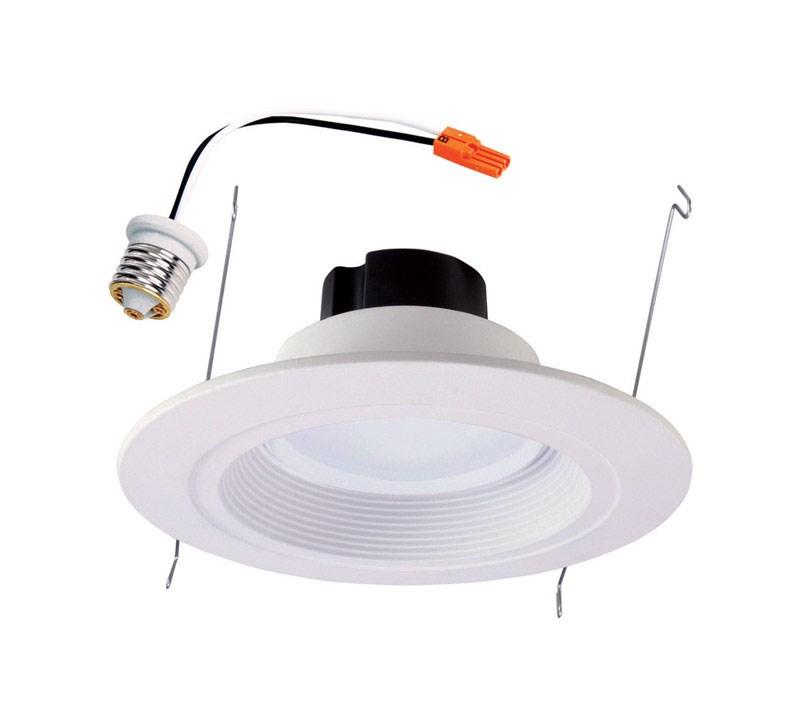 halo recessed lighting rl560wh6930r 5 6 white led retrofit baffle trim module