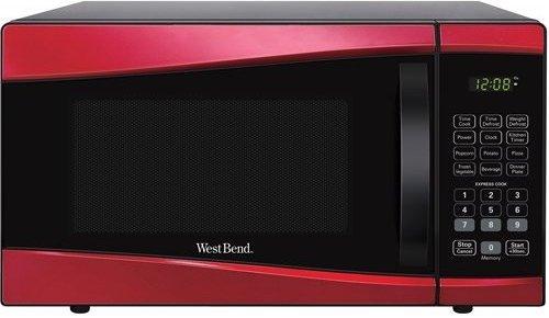 west bend em925ajw p2 0 9 cubic feet 900 watts microwave oven refurbished