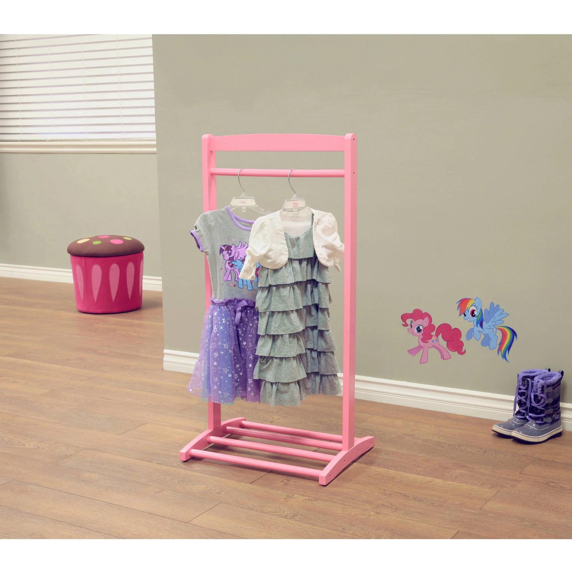 clothing racks pink walmart com