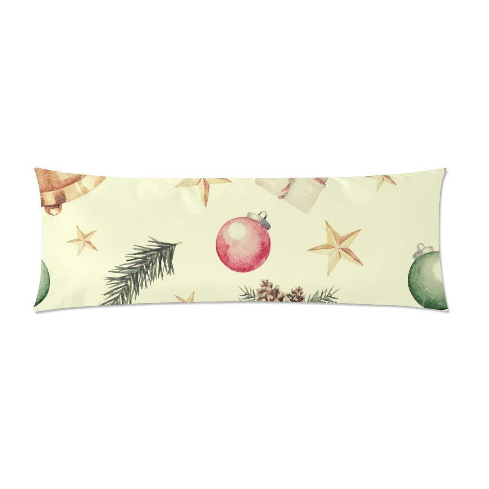 abphoto christmas body pillow covers pillowcase throw pillows 20x60 inch