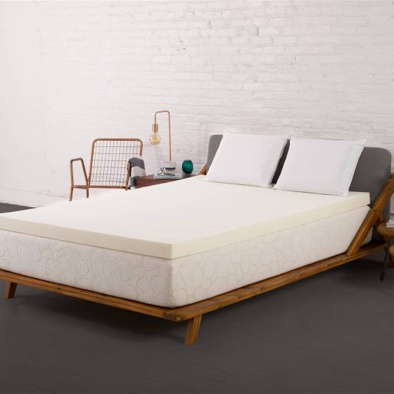 Authentic Comfort 2 Inch Memory Foam Mattress Topper