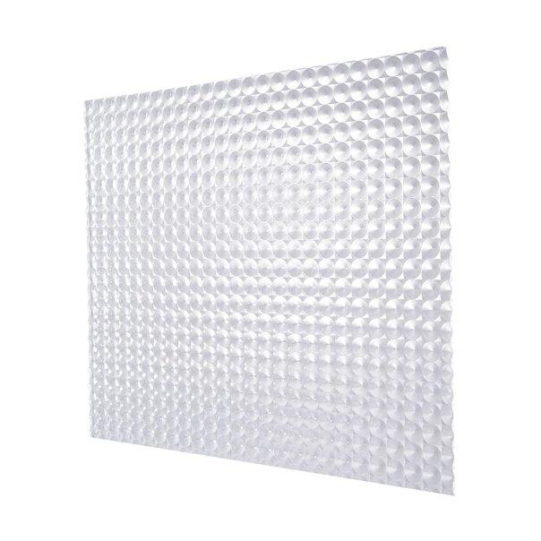 plaskolite 2 in x 2 ft prismatic clear acrylic light panel 25 pack