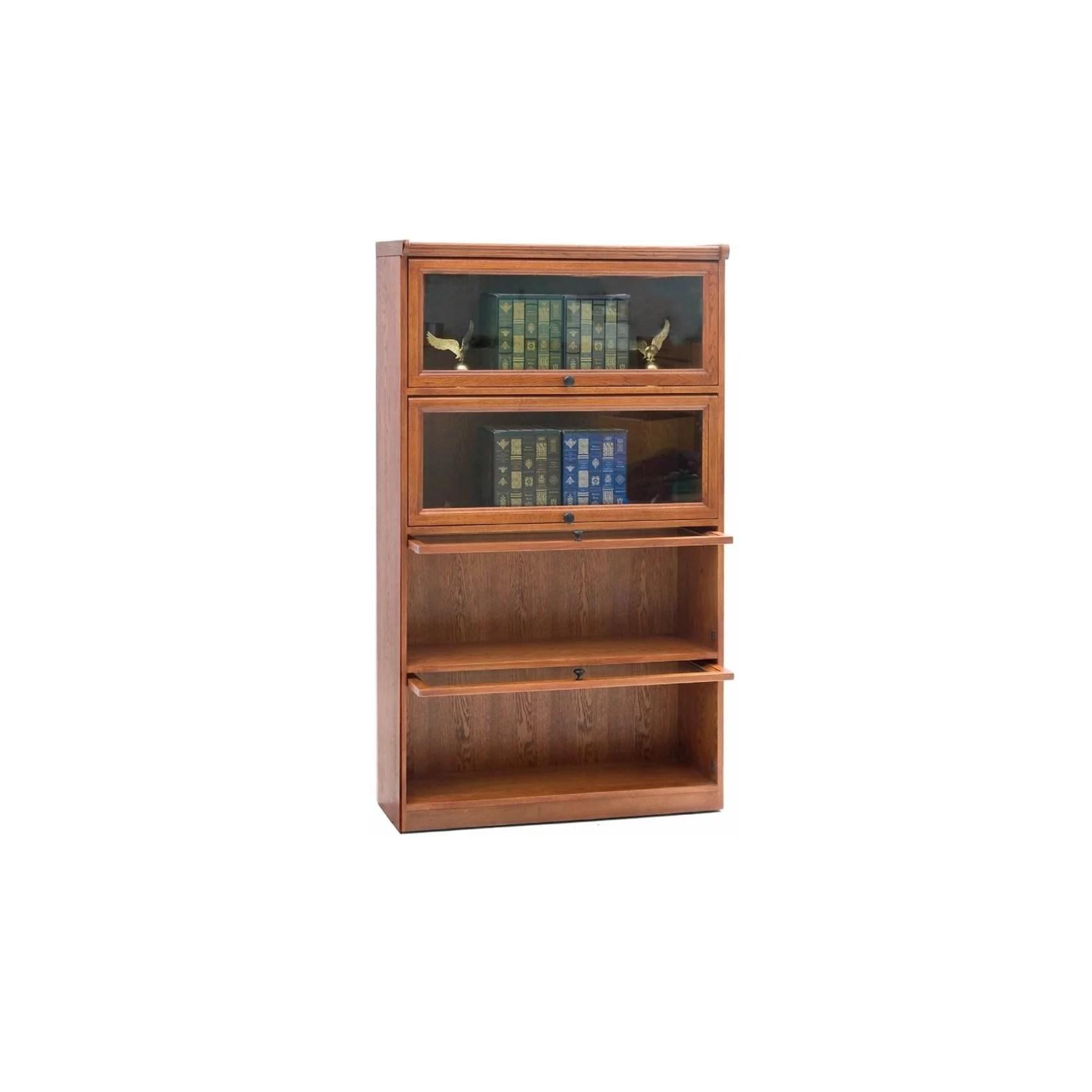 Chelsea Home Furniture Halen Barrister Bookcase Walmart Com