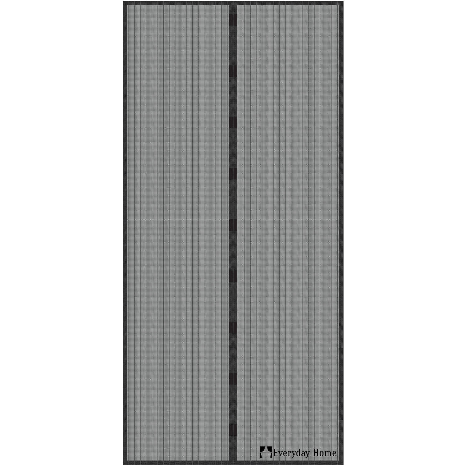 magnetic screen door with heavy duty magnets and mesh curtain by everyday home 38 x 80 walmart com
