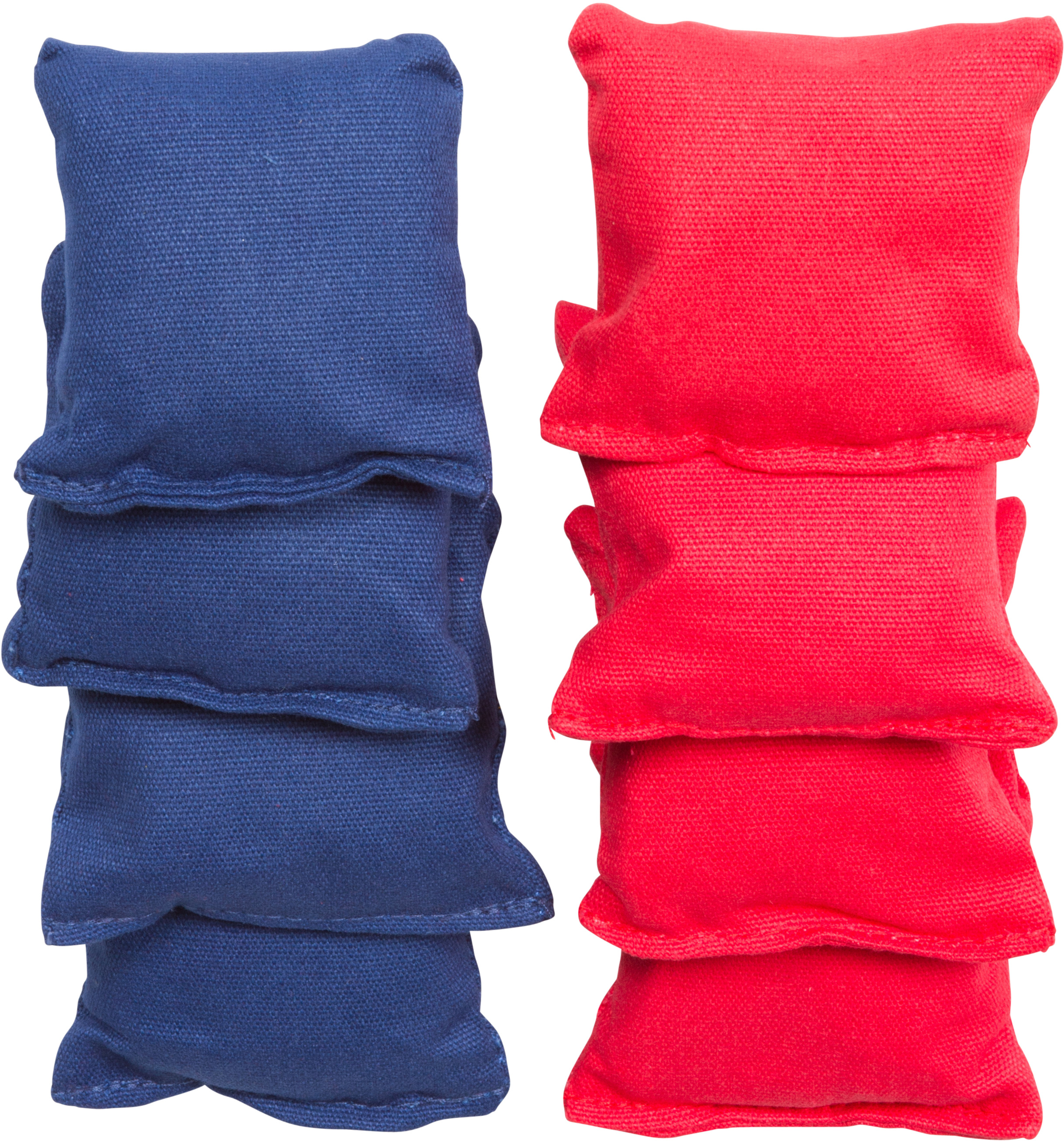 small sized bean bags 3 5 x 3 5 by tailgate360 red and blue