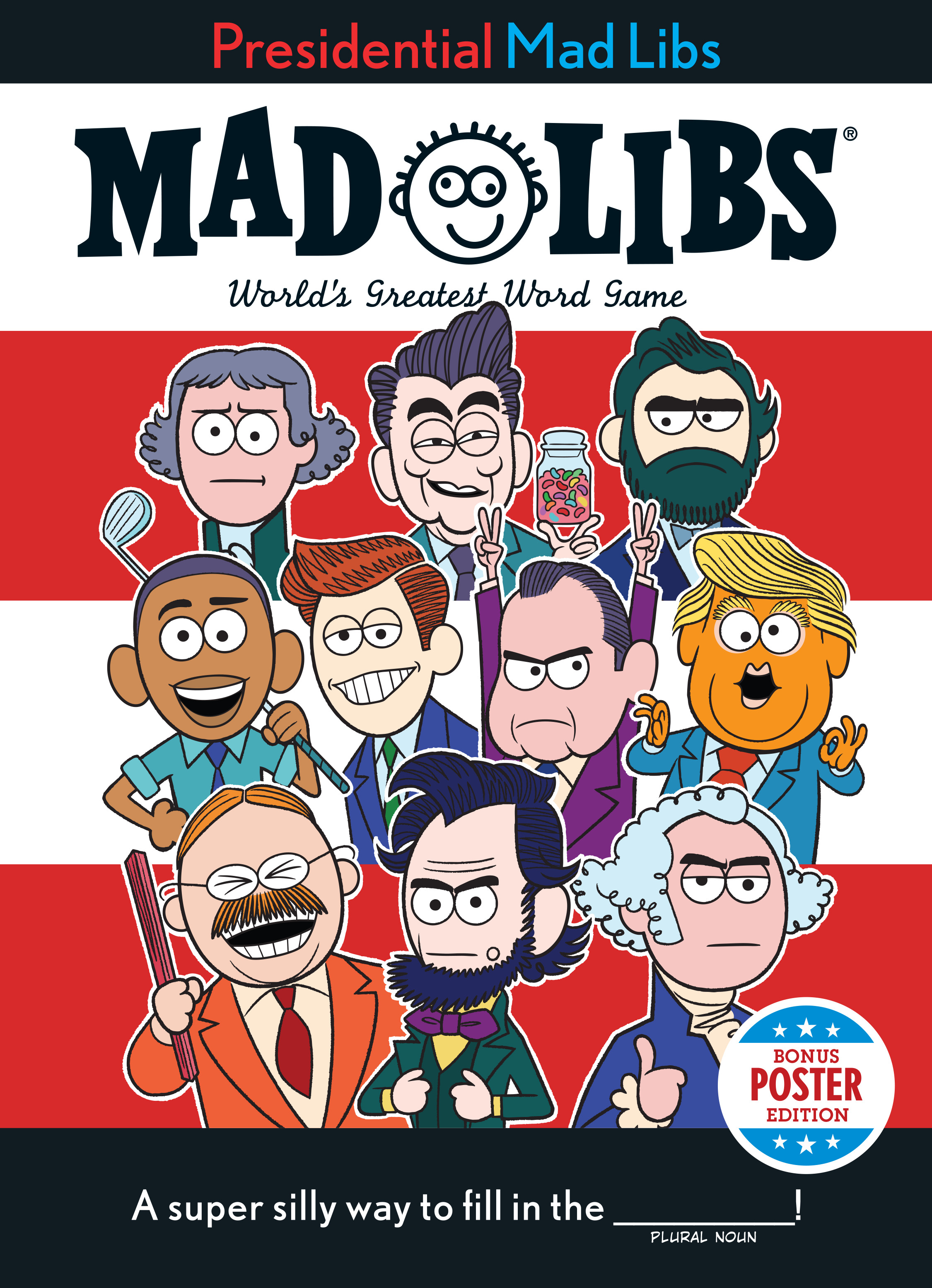 Mad Libs Presidential Mad Libs Potus Poster Edition