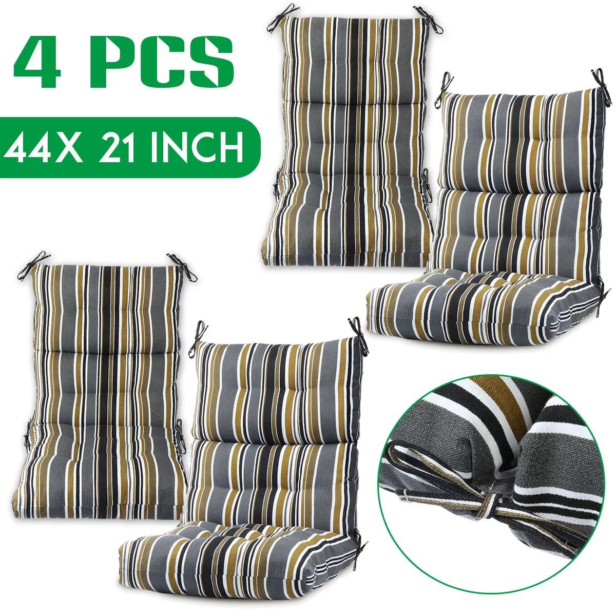 romhouse outdoor patio chair cushion set of 4 for garden decor multi color optional