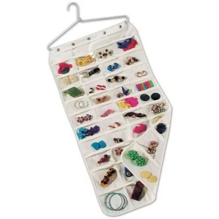 Household Essentials 80 Pocket Jewelry Organizer