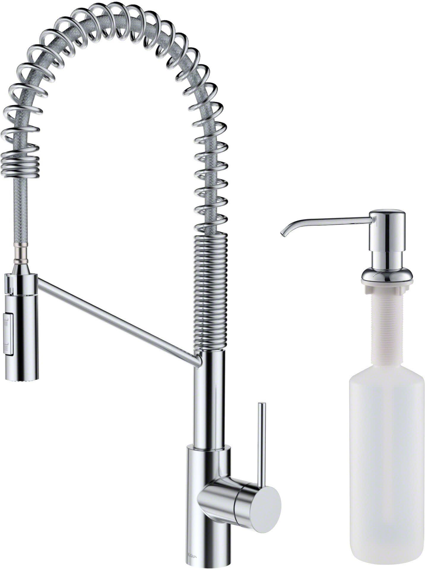 kraus kpf 2631 ksd 53 oletto pull down spray kitchen faucet walmart com