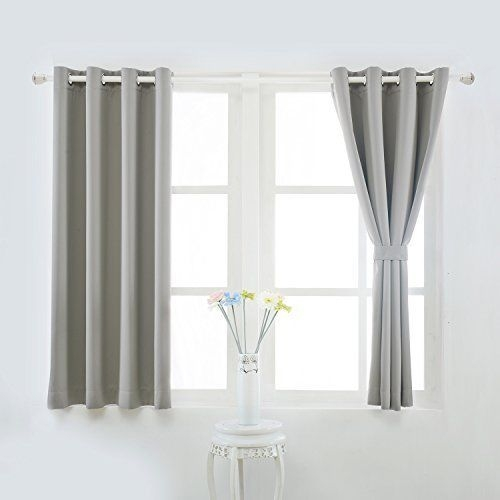 yoja thermal insulated grommet blackout curtains back tab drapes for livin walmart com