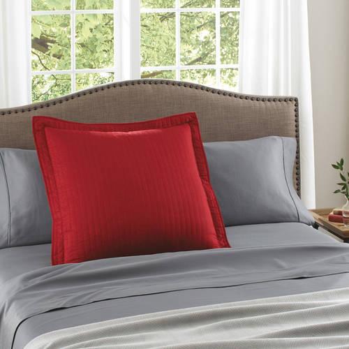 pillow shams red walmart com