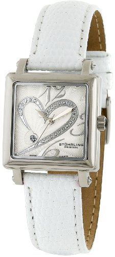 Stuhrling Original Women's 253.1115P2 Amour Aphrodite Courtly Diamond Swiss Q.