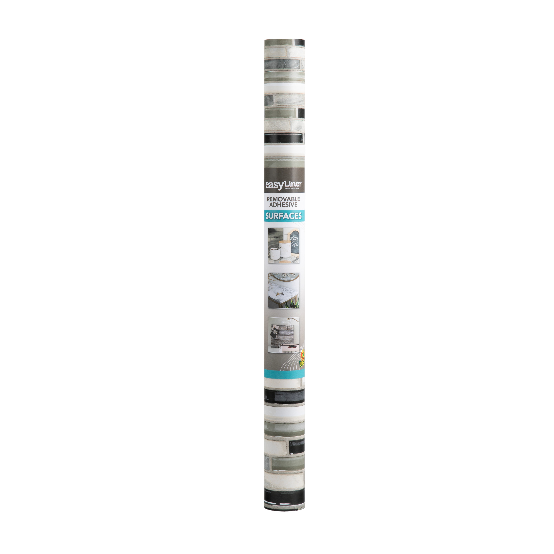 easyliner adhesive laminate 20 in x 15 ft glass tile shelf liner
