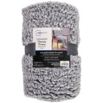 Mainstays Extra Plush 50 X 60 Lightweight Sherpa Throw Blanket 1 Each Walmart Com Walmart Com