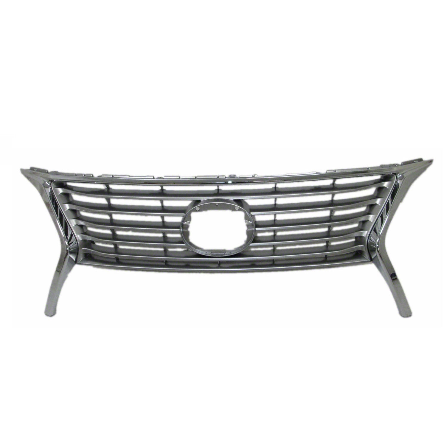 New Grille Chrome W O F Sport Package Front Fits 15