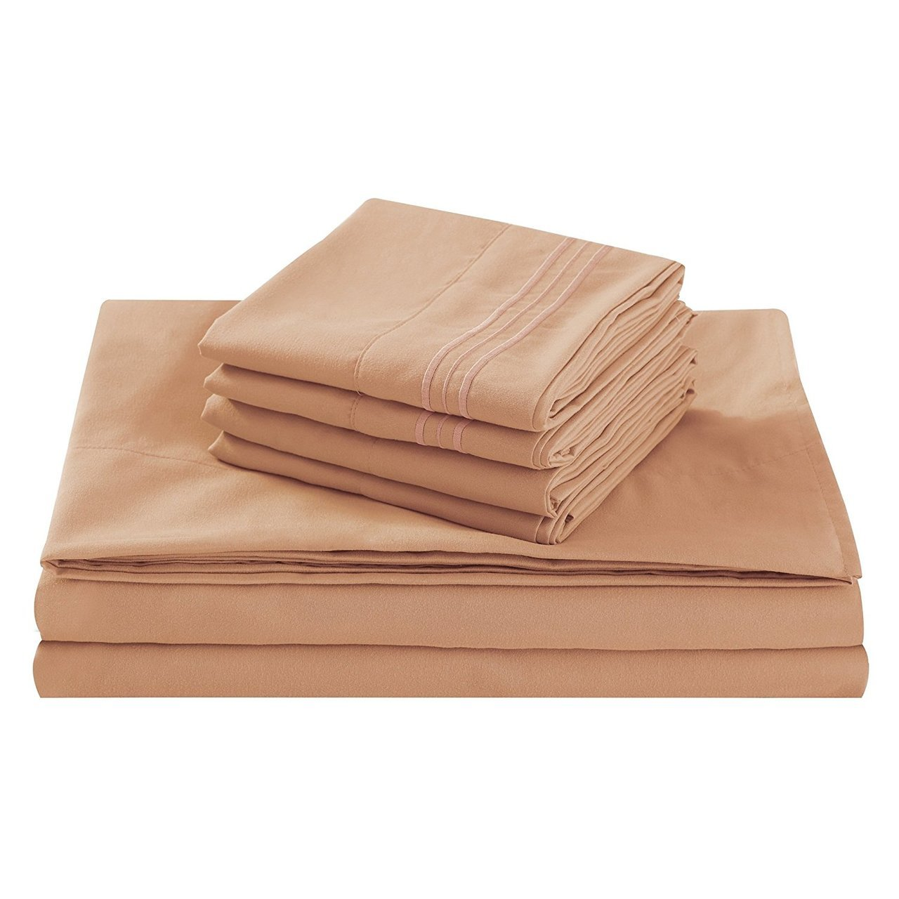 Fifth Avenue Home Camel California King Size Bed Sheet