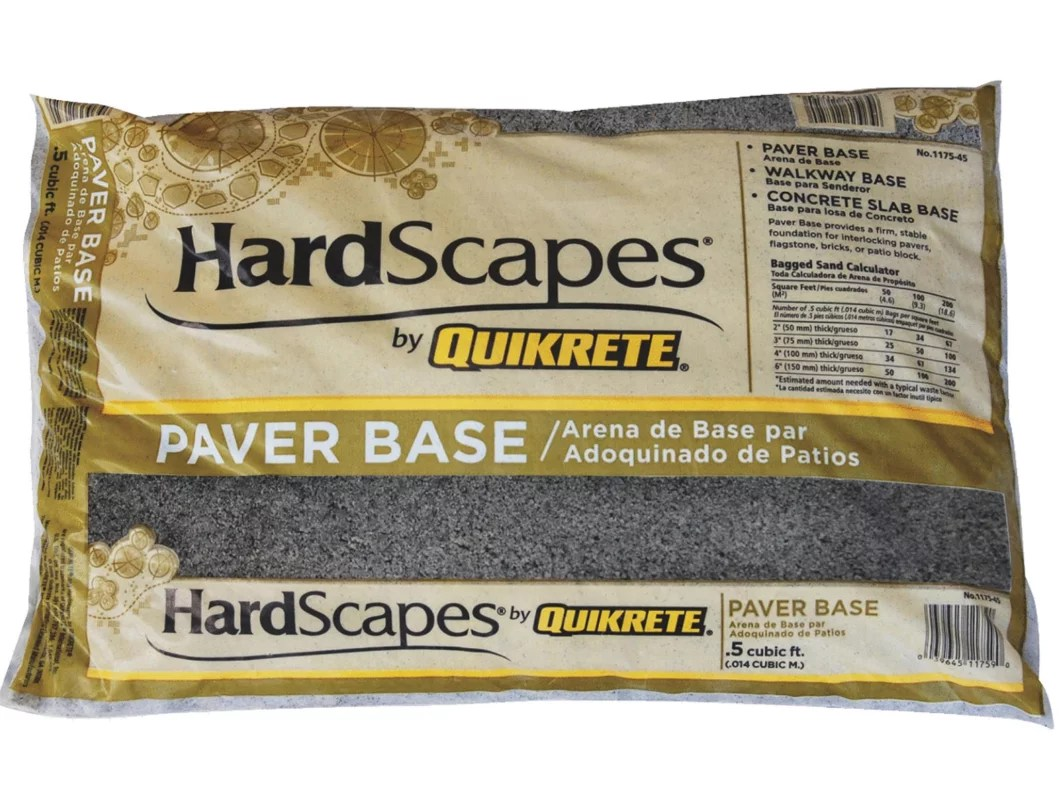 quikrete companies hardscapes paver base sand 5 cu ft 1175 45