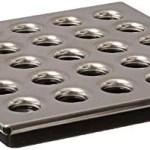Ebbe E4409 Square Shower Drain Grate Polished Nickel Walmart Canada