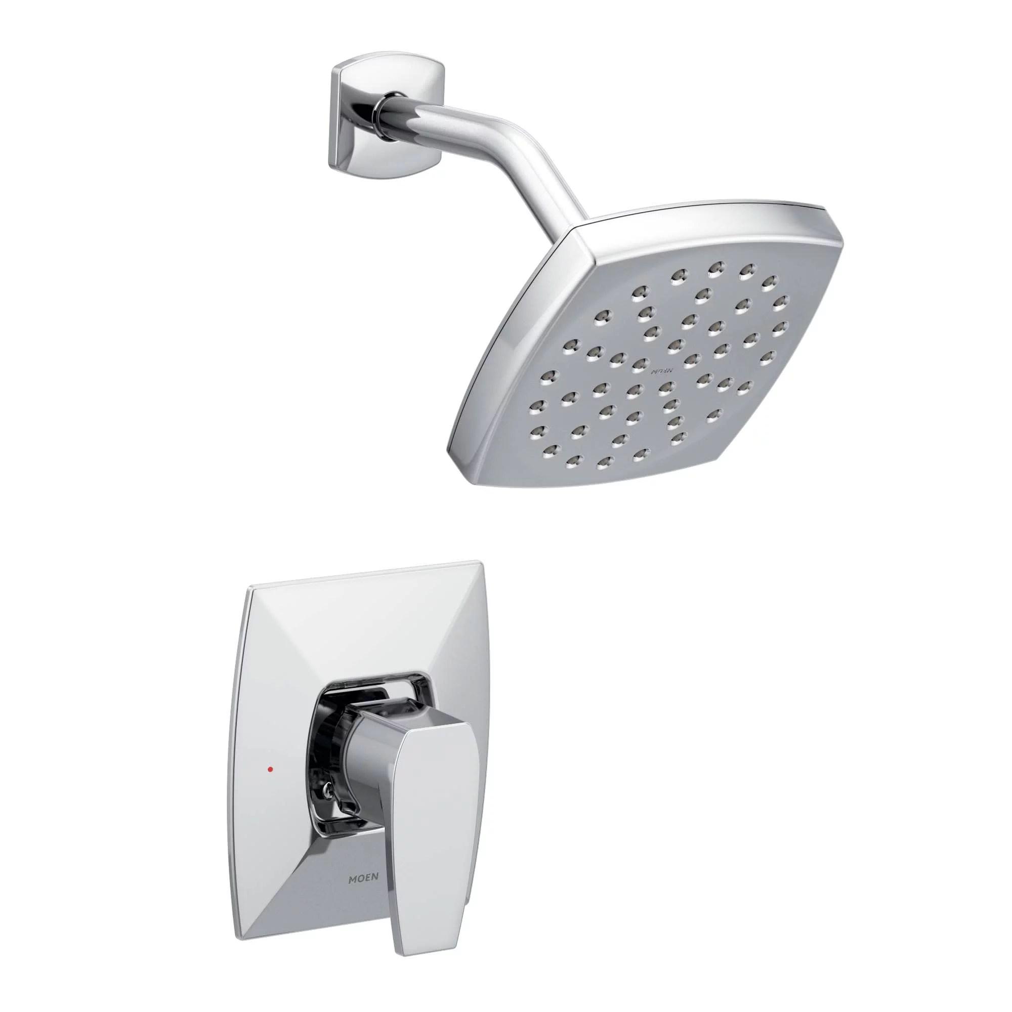 Moen Ts8712ep Via Shower Trim Package With Single Function Rain Shower Head