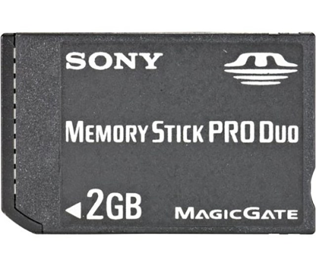 Refurbished Sony Psp 2 Gb Memory Stick Pro Duo Memory Card 2gb